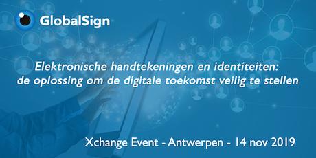 GlobalSign Xchange Event tickets