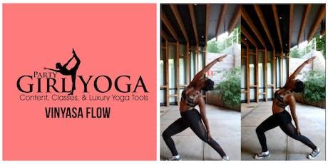 Yoga on The Waterfront : Warm Beginner Vinyasa - PartygirlyogaNY tickets