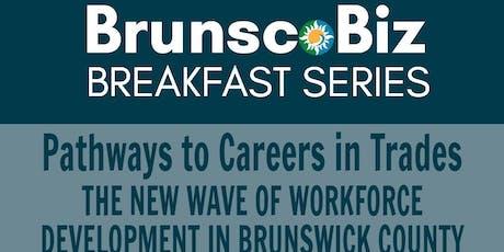 BrunscoBiz September Breakfast tickets