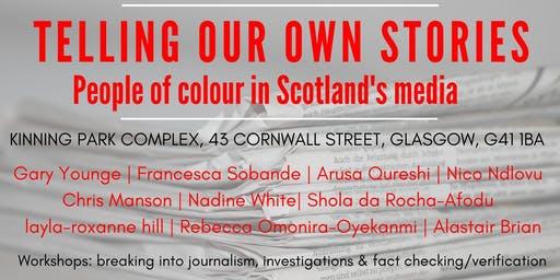 Telling our own stories: People of colour in Scotland's media
