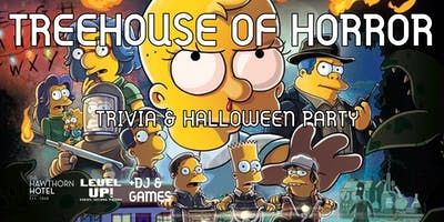 TREEHOUSE OF HORROR: Trivia & Halloween Party