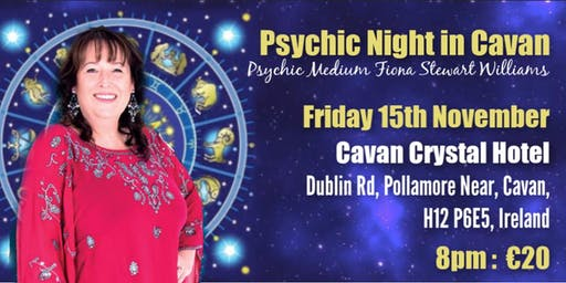 PsychicNight in Cavan Crystal Hotel