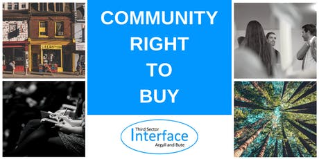 Community Right To Buy tickets