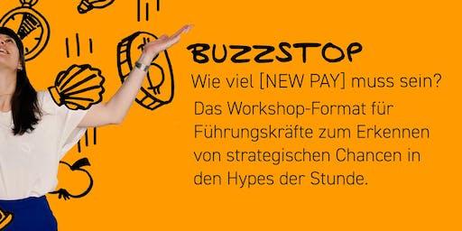 Netzwerkworkshop - neue Vergütungsmodelle * NewPay * BuzzStop