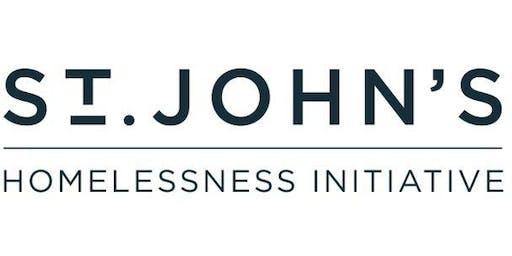 St. John's Homelessness Initiative - partners launch