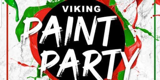 Viking Paint Party