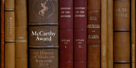 The McCarthy Award for History of Medicine Research tickets