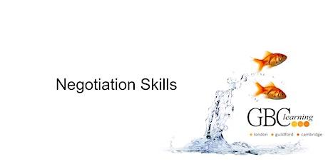 Negotiation Skills - London  tickets