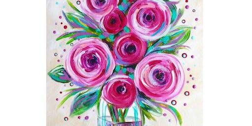 Pink Roses - Clock Hotel