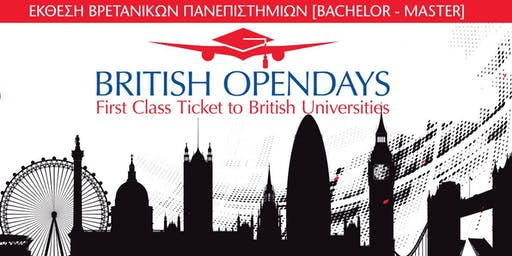 BRITISH OPENDAYS 2019 IN ATHENS