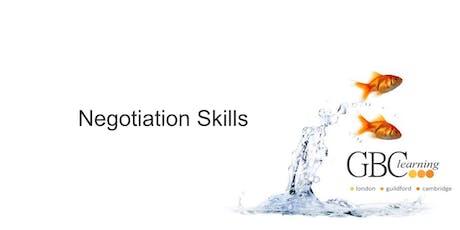 Negotiation Skills - Guildford tickets