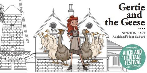 Auckland Heritage Festival 2019: Gertie and the Geese book launch