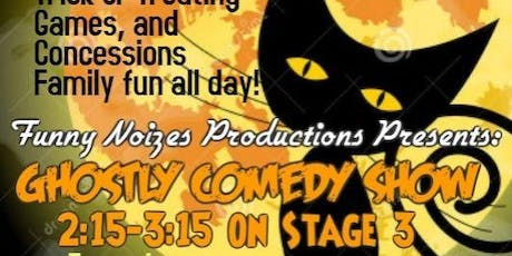 Ghostly Comedy Show at DeBord's 24th Annual Halloween Festival tickets