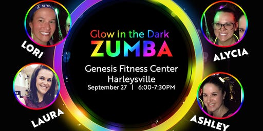 Glow in the Dark ZUMBA Open House