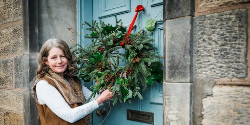 Make your Own Christmas Wreath with Flora Alba