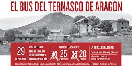 El bus del Ternasco de Aragón en La Borda de Pastores entradas