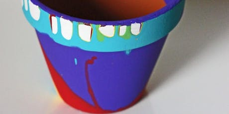 SEND Home Education Group - Paint and plant your own pot tickets