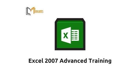 Excel 2007 Advanced 1 Day Virtual Live Training in Hamilton