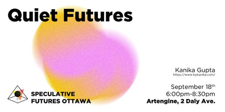Quiet Futures - What would a quieter future sound like? tickets
