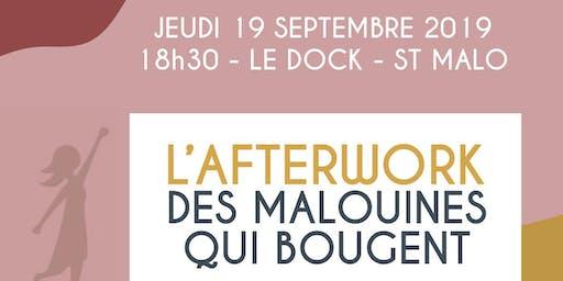 L'Afterwork des Malouines qui bougent au Dock à Saint-Malo