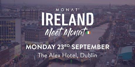 MONAT Ireland - Meet MONAT tickets