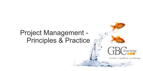 Project Management - Principles & Practice - Guildford tickets