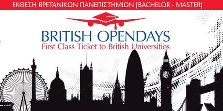 BRITISH OPENDAYS 2019 IN THESSALONIKI tickets