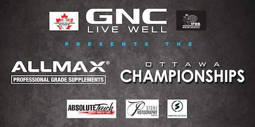 The GNC Allmax CPA Ottawa Championships: