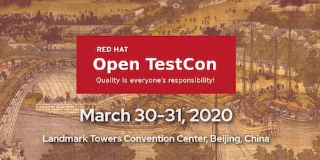 Open TestCon tickets