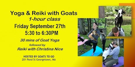 Goat Yoga & Reiki tickets