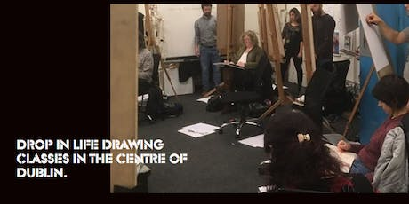 Drop-in Untaught Life Drawing in the City Centre tickets