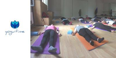 Yoga en las noches – Diego de León – Clase de Prueba