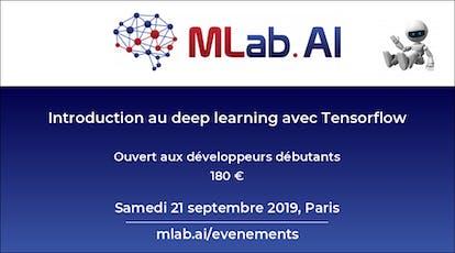 Introduction au deep learning avec Tensorflow billets