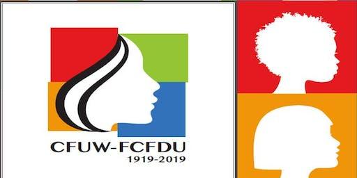 CFUW SEASON OPENER/REGISTRATION NIGHT - Explore  Activity Groups for Women