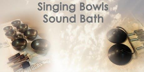 Singing Bowls Sound Bath tickets