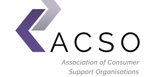 The Association of Consumer Support Organisations (ACSO) Networking Drinks