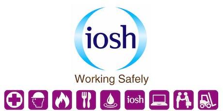 IOSH Working Safely tickets