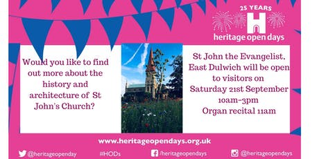 St John's Open Day tickets