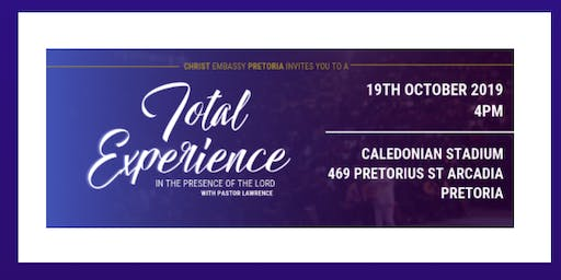 Total Experience with Pastor Lawrence Ajiboye