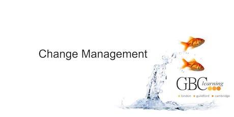 Change Management - London  tickets