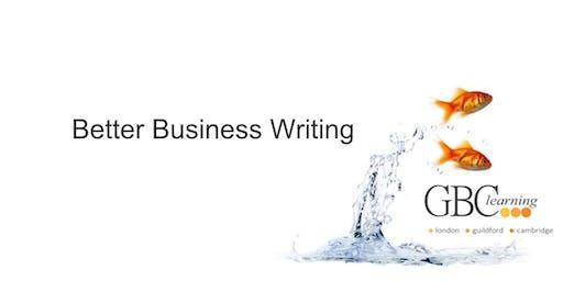 Better Business Writing - Cambridge