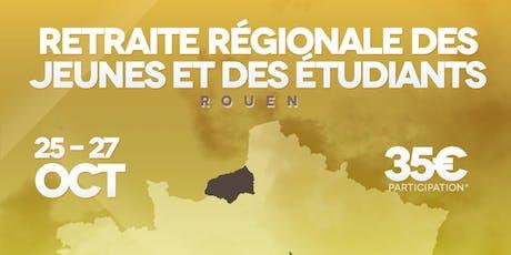 Retraite Jeunesse et Vie Rouen 2019 billets