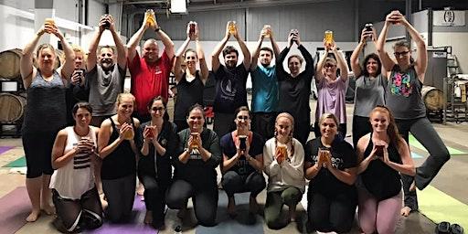 Beer Yoga at Barrel House Z
