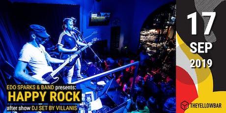 Edo Sparks & Band - The Yellow Bar biglietti
