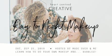 Day to Night Makeup- Natural Makeup Demo & DIY tickets