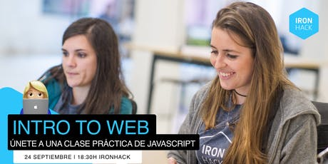 Intro to Web: Aprende Javascript! tickets