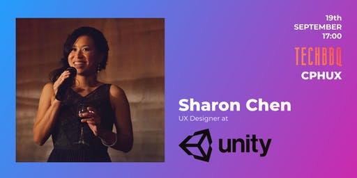 UX Passion Talk at TechBBQ by Sharon Chen from Unity Technologies