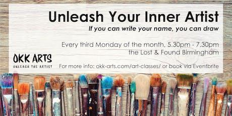 Unleash Your Inner Artist / 16.09.2019 tickets