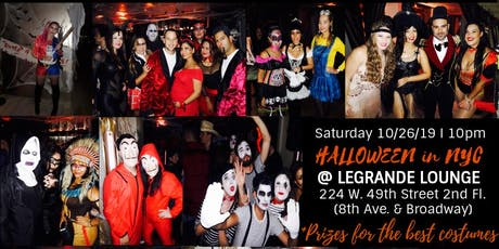 HALLOWEEN PARTY 2019 in NYC tickets