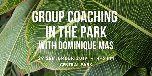 Group Coaching in the Park: Life Transitions and Self-Development